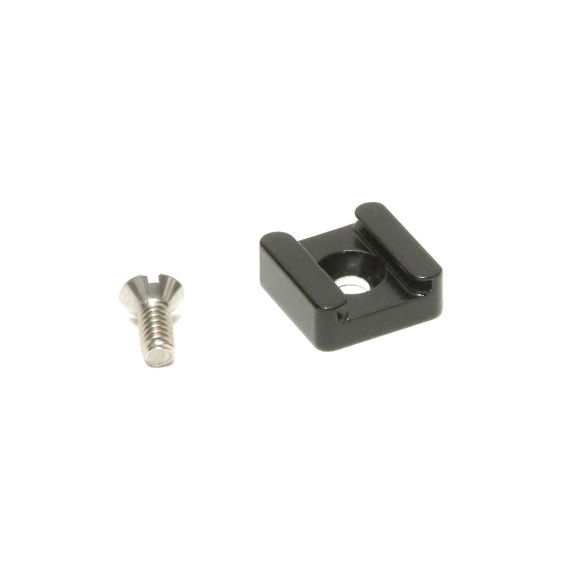 Lumedyne Asho Cold Shoe Adapter With 14 20 Threaded Screw